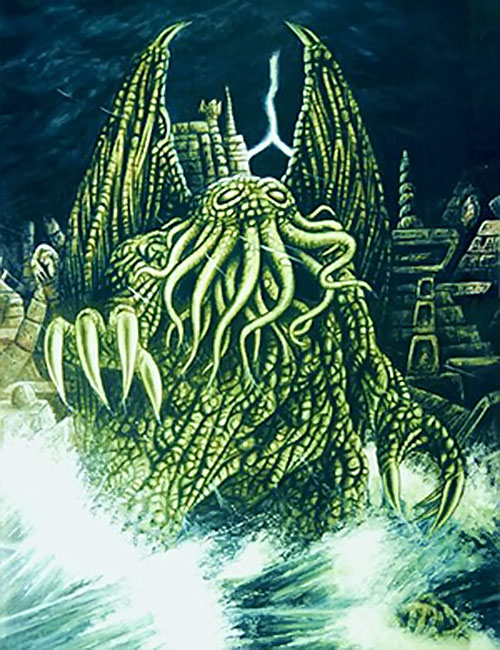 Cthulhu on R'lyeh