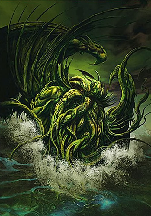 Cthulhu in water