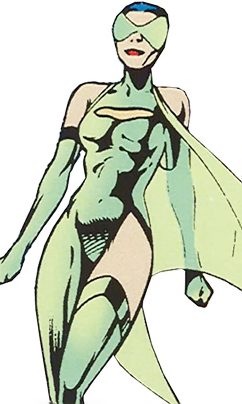 Cuckoo of Clan Destine (Marvel Comics) in costume