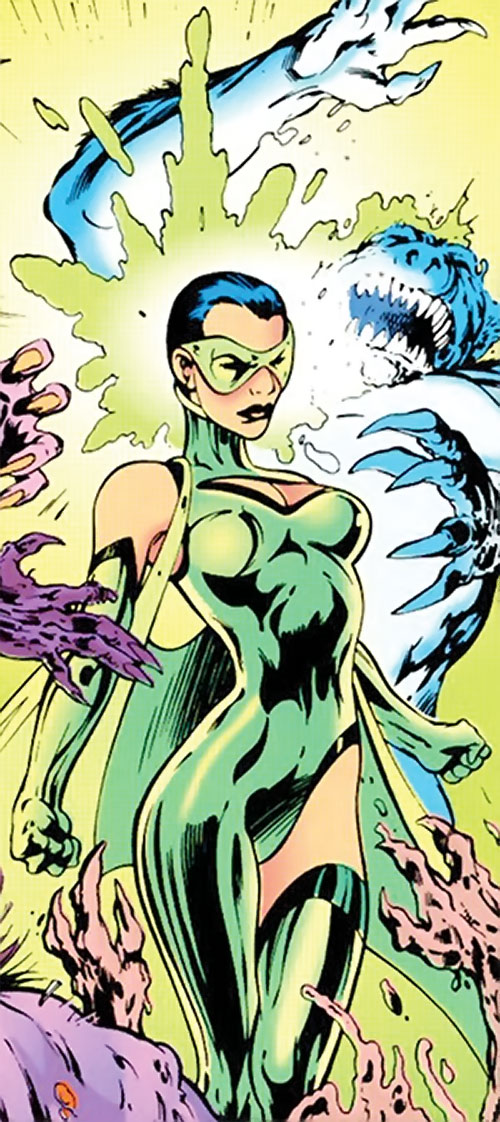 Cuckoo of Clan Destine (Marvel Comics) psychically repelling mutates