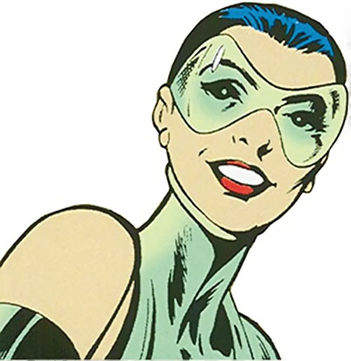 Cuckoo of Clan Destine (Marvel Comics) face closeup