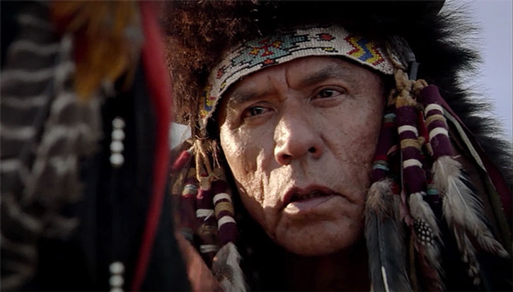 Chief Many Horses (Wes Studi)