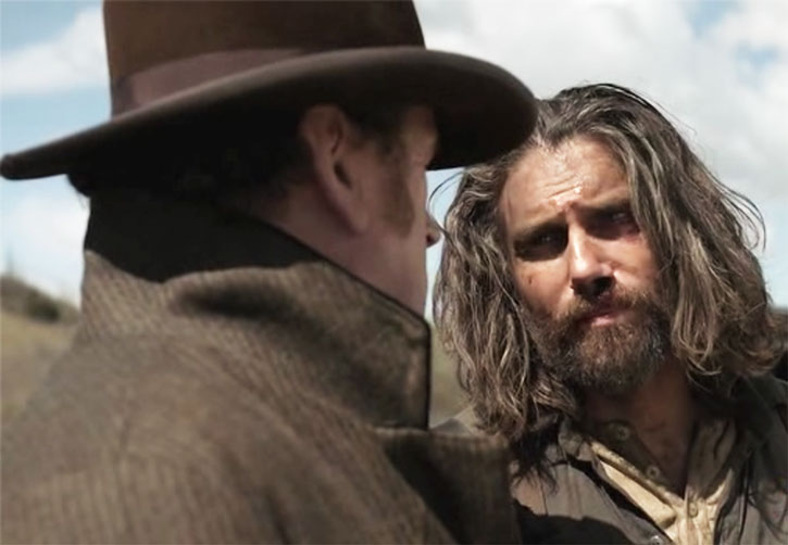 Cullen Bohannon (Anson Mount) is sceptical