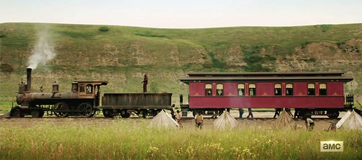 Hell on Wheels train camp
