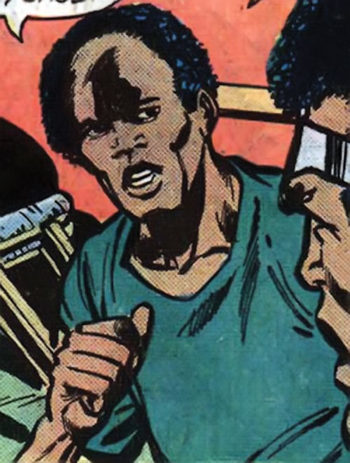 Curtis Carr (Marvel Comics) and Luke Cage