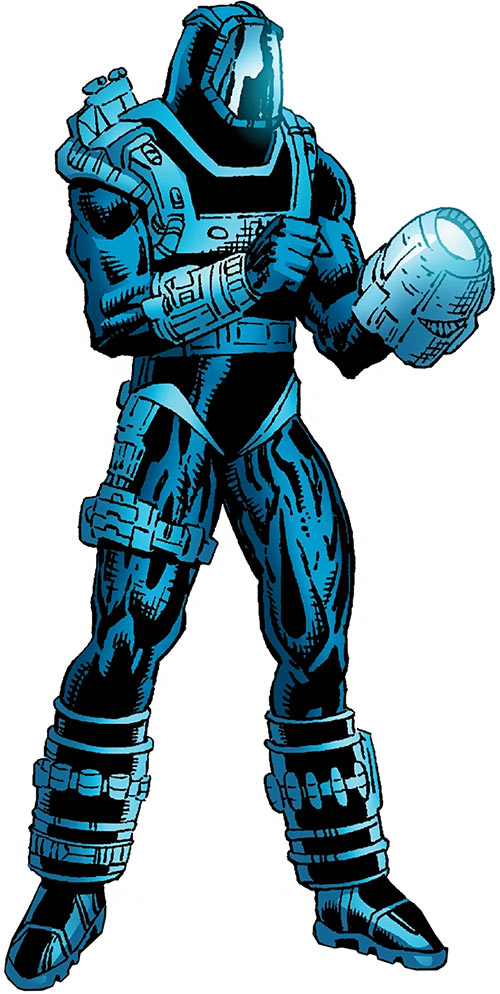 High-Tech (Deathlok ally) (Marvel Comics) (Curtis Carr)