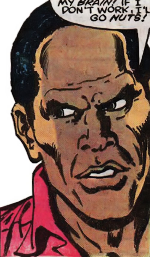 Curtis Carr (Marvel Comics) face closeup