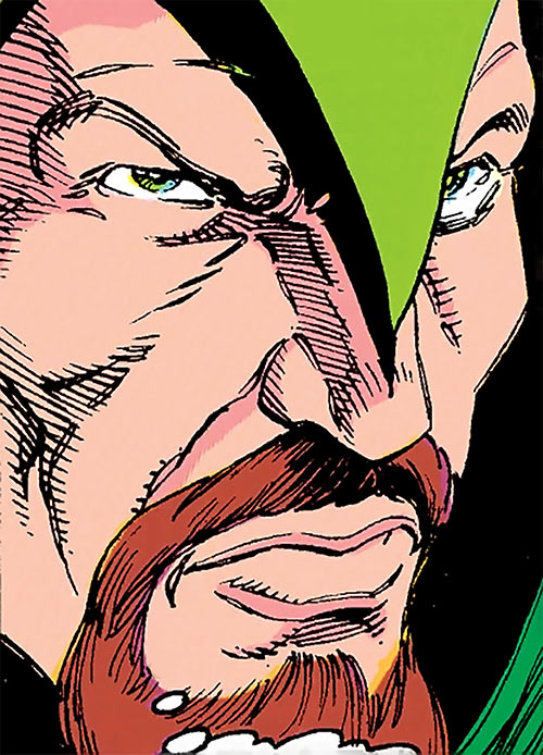 Cutthroat (Marvel Comics) face closeup