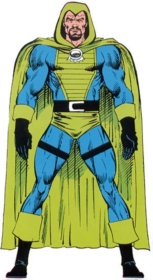Cutthroat (Marvel Comics) from the OHOTMU Master Edition