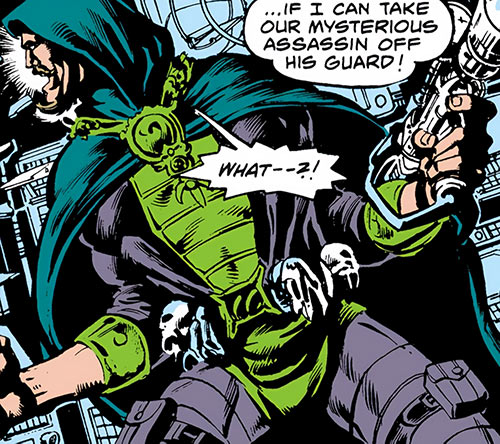 Cutthroat (Marvel Comics) during his first appearance