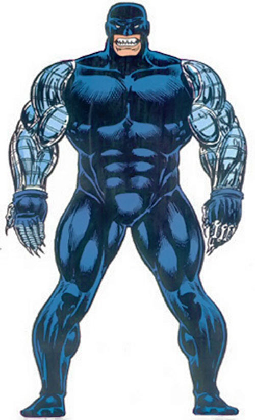 Cyber (Wolverine enemy) (Marvel Comics) from the Master Edition handbook