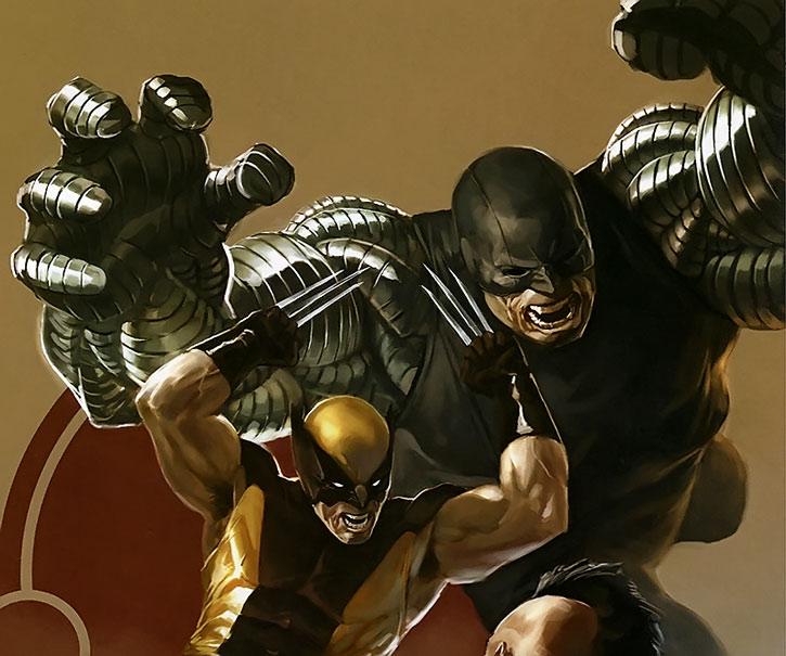 Cyber vs. Wolverine