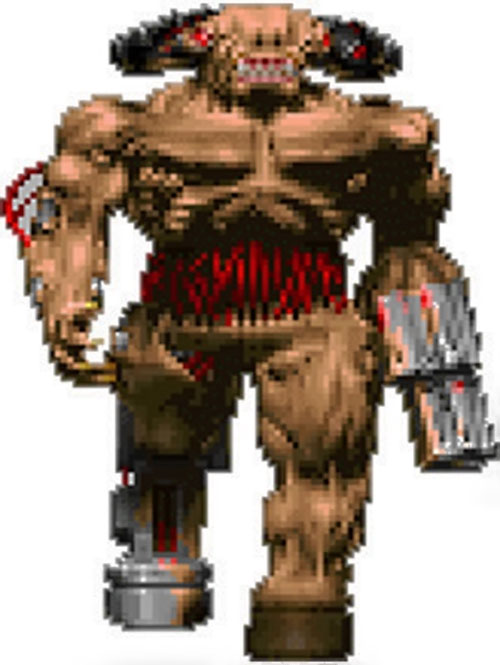 Cyberdemon in the Doom video game