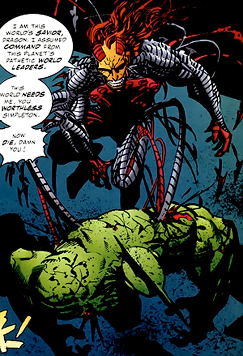 Cyberface vs. Savage Dragon (comics)