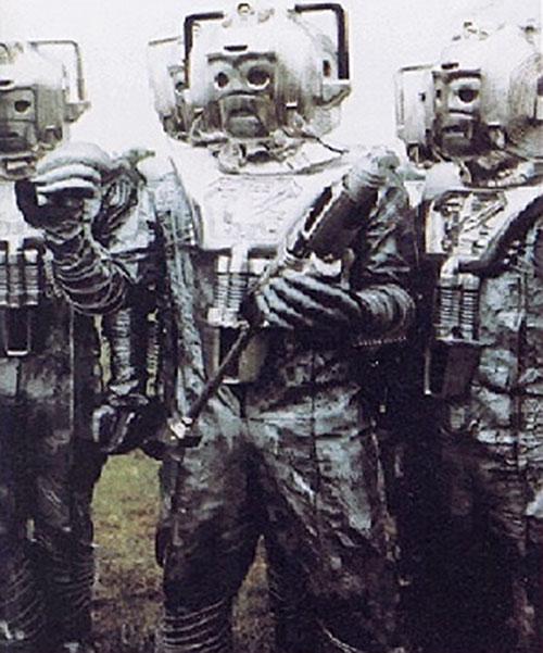 Armed cybermen (Dr. Who)
