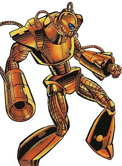 Cybernoid robot (Exiles Malibu Comics Ultraverse)