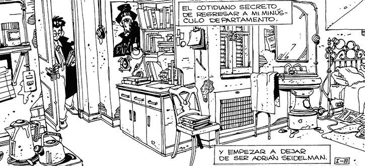 Cybersix - Cyber6 - Argentine comic book - Apartment Adrian
