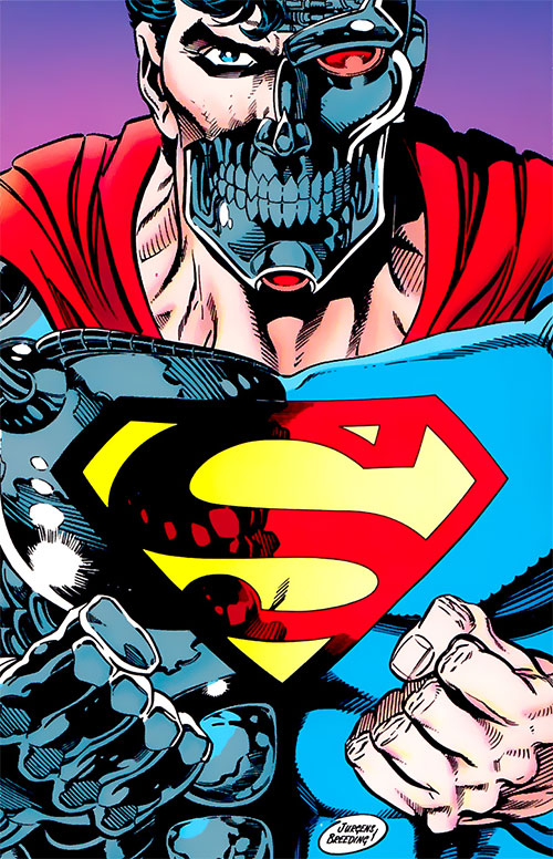 Cyborg Superman (DC Comics) by Jurgens and Breeding