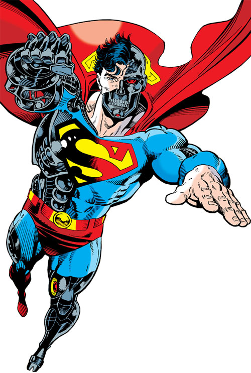 Cyborg Superman (DC Comics) during the Reign of the Supermen