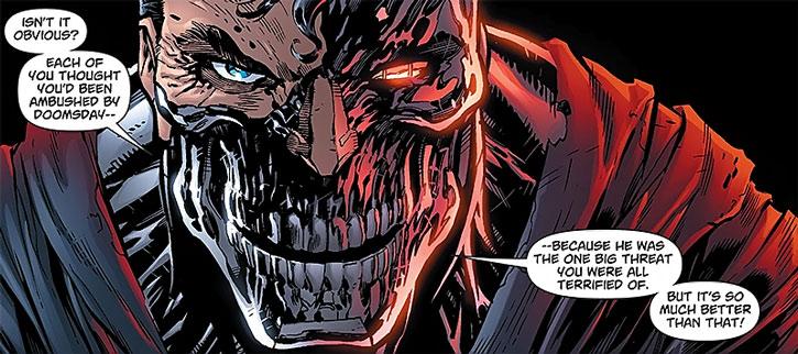 Cyborg Supernan (Hank Henshaw)'s face