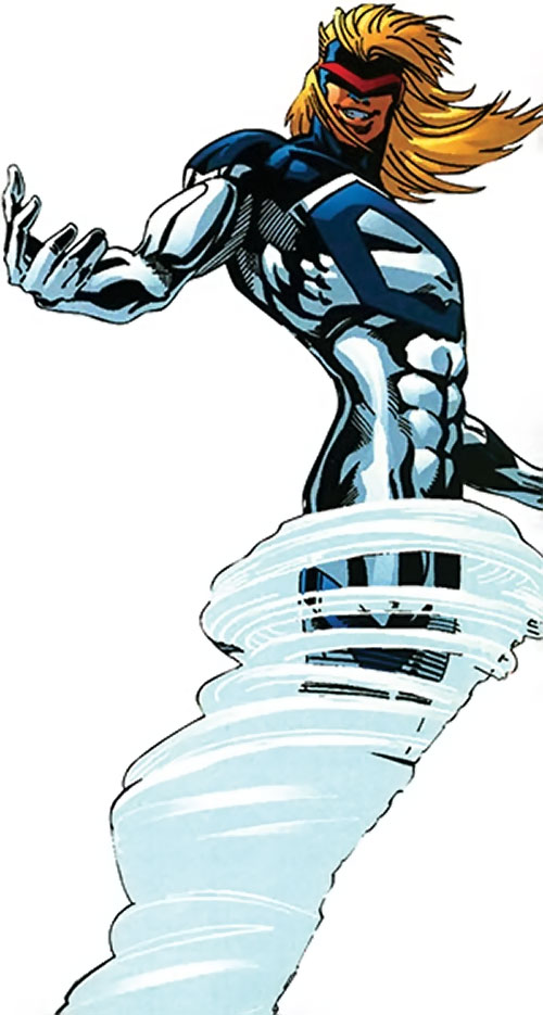 Cyclone (Thunderbolts enemy) (Marvel Comics) (Fresson)