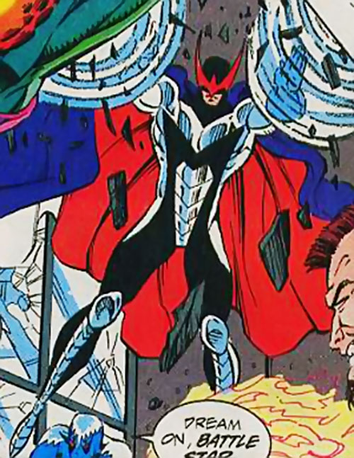 Cyclone III (Silver Sable enemy) (Marvel Comics)