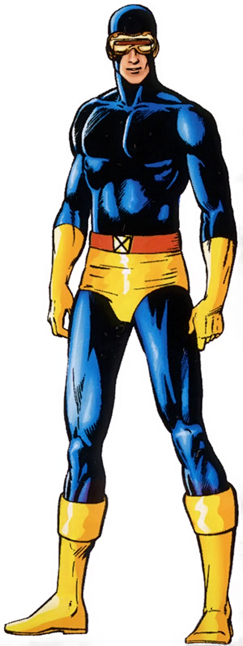 Cyclops of the X-Men - classic costume