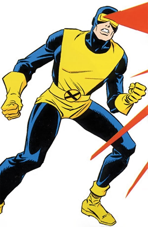 Early Cyclops of the X-Men