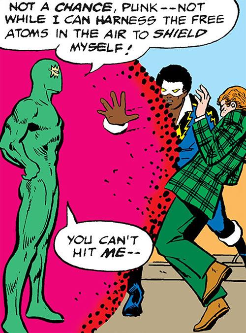 Cyclotronic Man (DC Comics) vs. Black Lightning