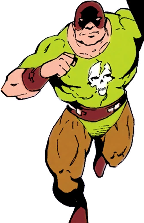 Czonk (DC Comics) (Robin character) as Headbanger