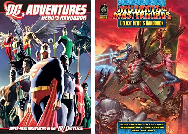 D&D for superheroes - DC Adventures - Mutants and Masterminds - RPG