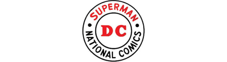 DC Comics logo during the Silver Age