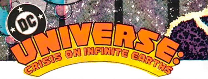 DC Comics logo early Crisis on Infinite Earths