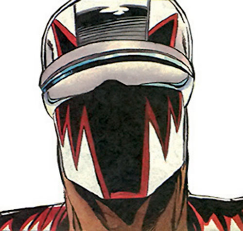 DMZ of the Blood Syndicate (Milestone Comics) mask closeup