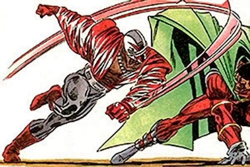 DMZ of the Blood Syndicate (Milestone Comics) vs. Icon