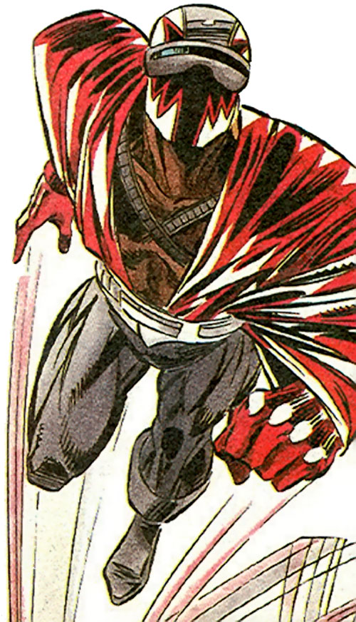 DMZ of the Blood Syndicate (Milestone Comics) taking off