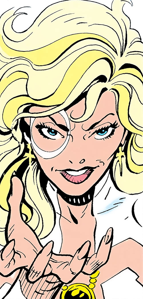 Dagger (Tandy Bowen) (Marvel Comics) face closeup for a change