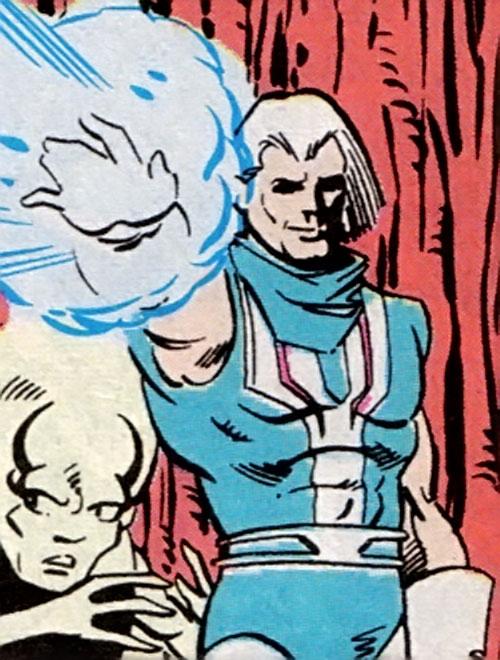 Dagon-Ra (L.E.G.I.O.N. enemy) using his powers