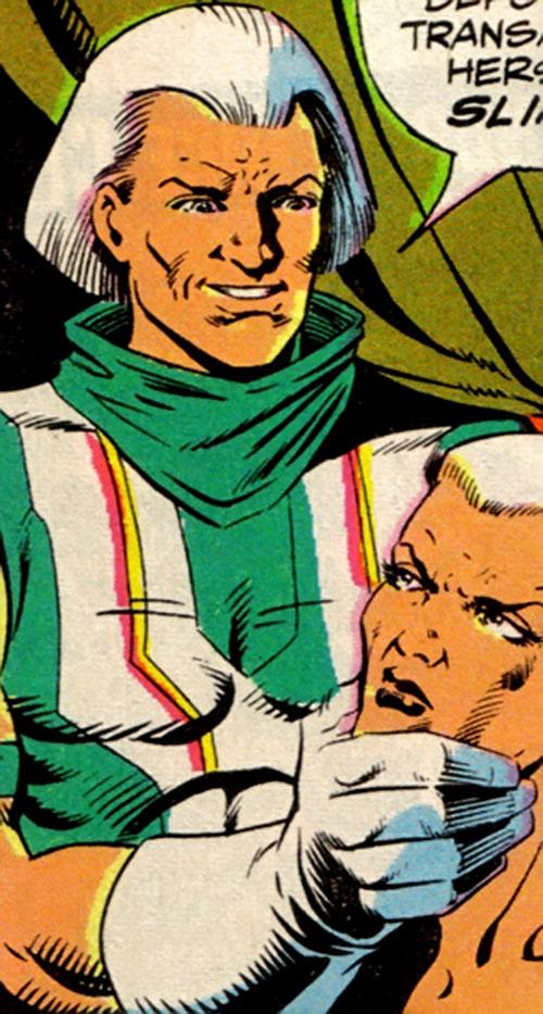 Dagon-Ra (L.E.G.I.O.N. enemy) (DC Comics) and Lady Quark