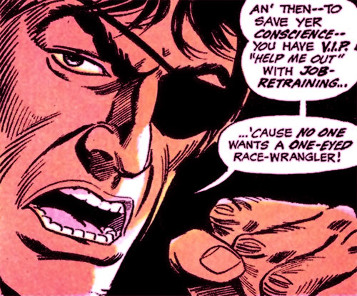 Dakota Jones (Batman character) (DC Comics) dramatic closeup