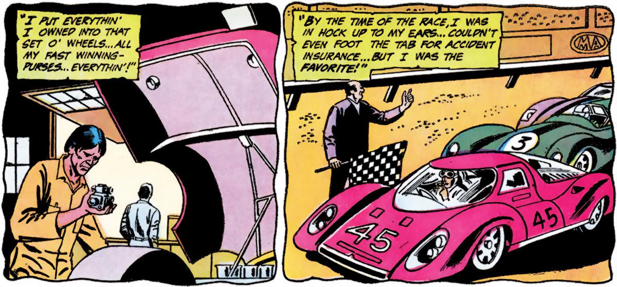 Dakota Jones (Batman character) (DC Comics) GT racing car