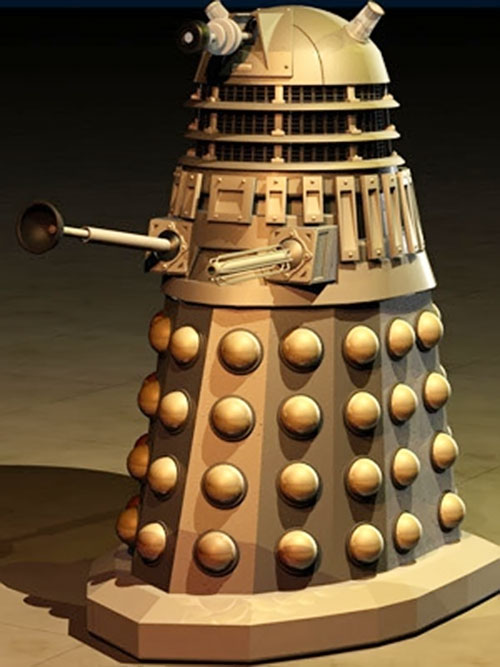 3D model of a classic Dalek (Doctor Who)
