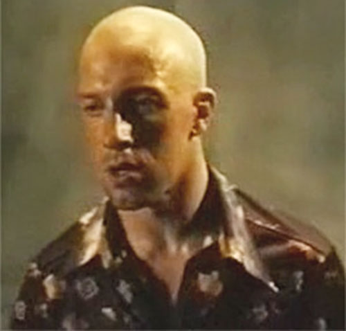 Damien Tomasso (Cyril Raffaelli in District B13 / Banlieue 13) closeup