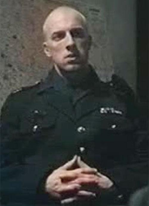 Damien Tomasso (Cyril Raffaelli in District B13 / Banlieue 13) in uniform