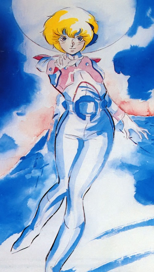 Dana Sterling (Robotech Southern Cross) painting