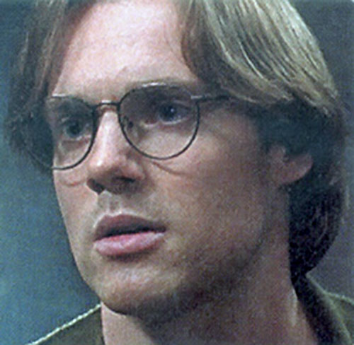 Dr. Daniel Jackson (Michael Shanks in Stargate) with longer hair