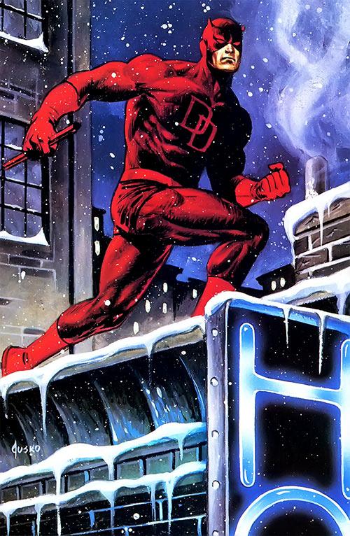 Daredevil (Marvel Comics) Joe Jusko masterpieces painting