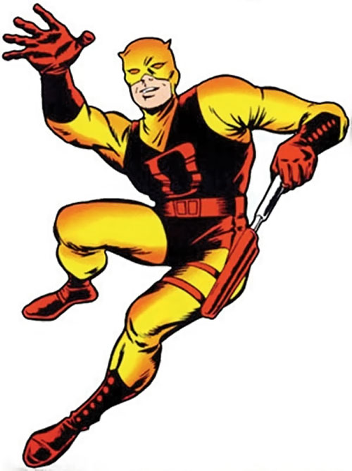 Daredevil (Marvel Comics) very early during his career