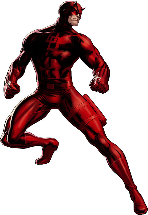 Daredevil (Marvel Comics) ready for battle