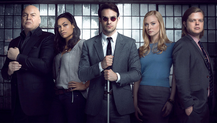 Daredevil (Charlie Cox on Netflix) main cast
